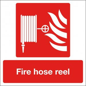 Fire Hose Reel Sign