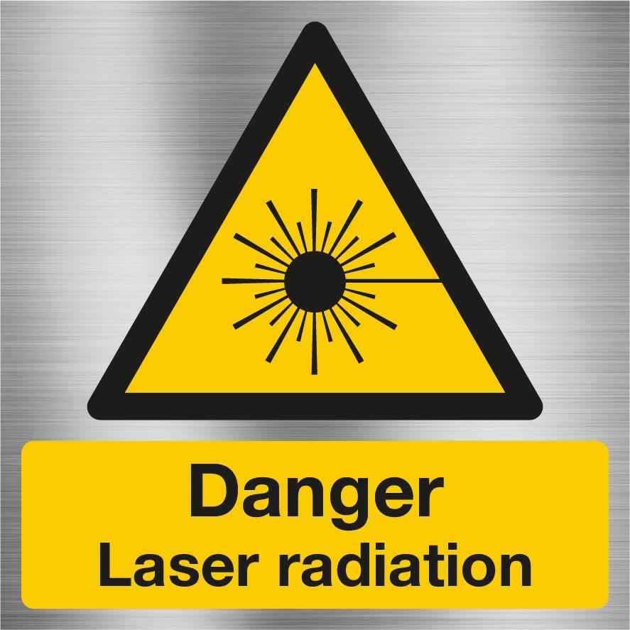 Danger Laser Radiation Sign