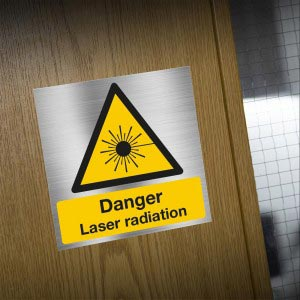 Danger Laser Radiation Sign