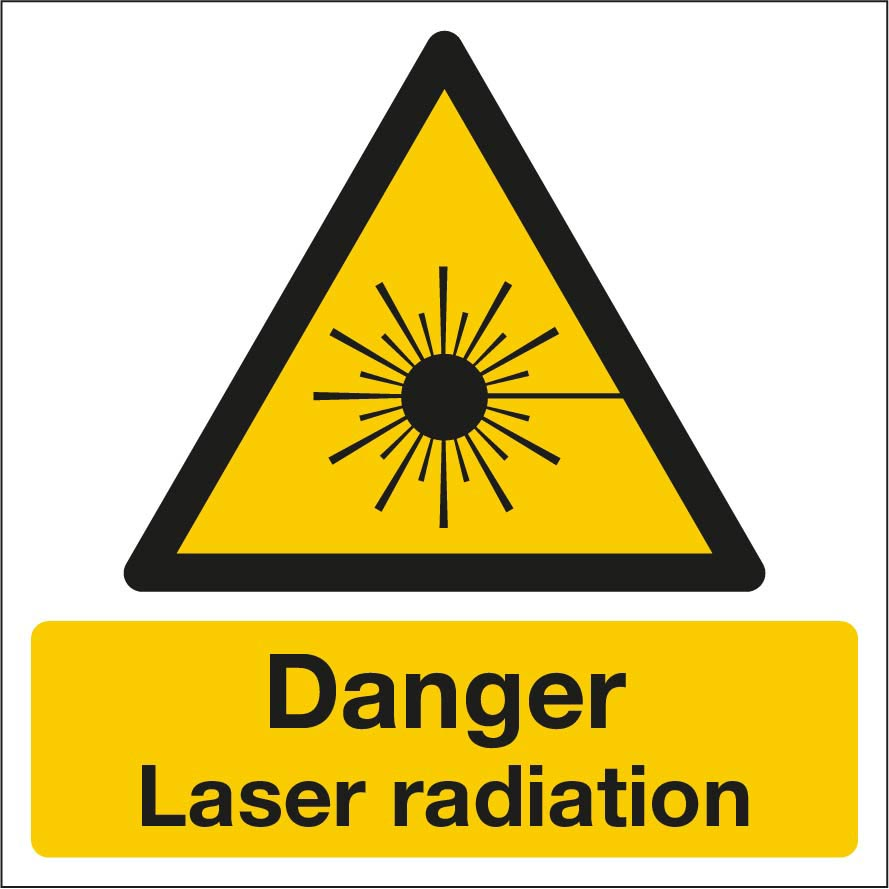 Danger laser radiation