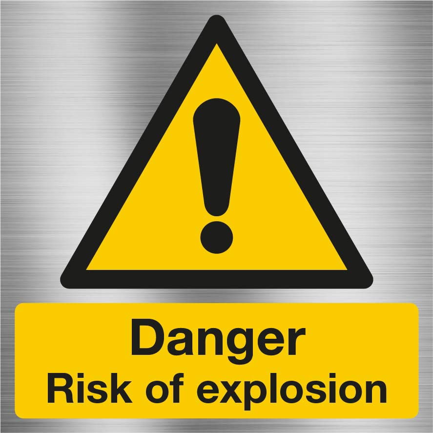Danger risk of explosion