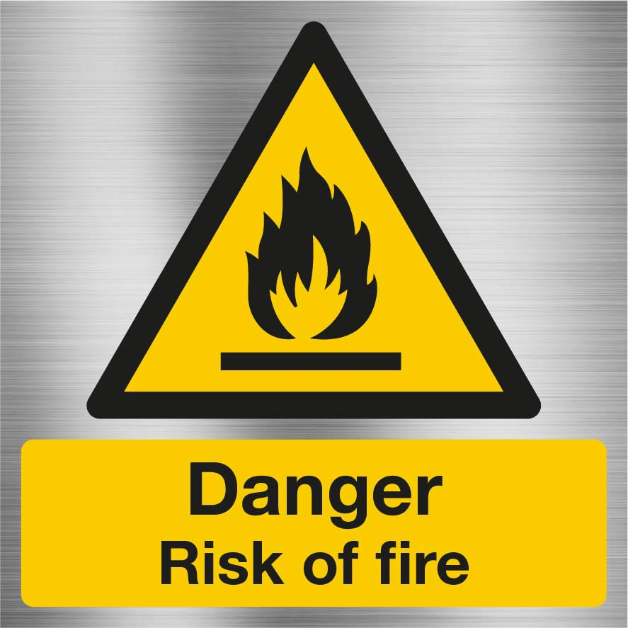 Danger risk of fire