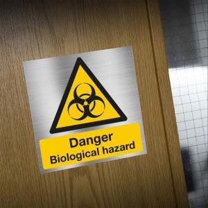 Danger warning biological hazard