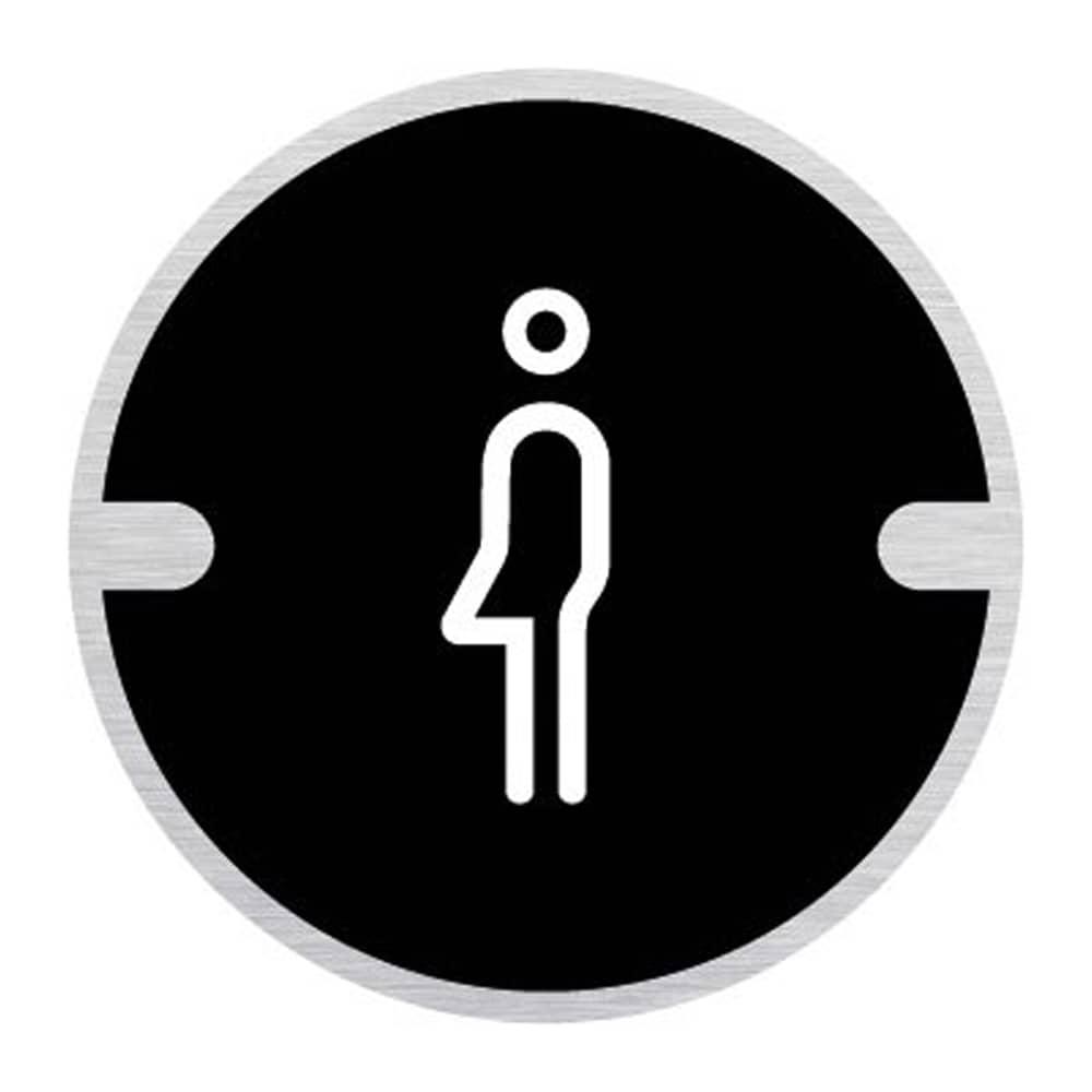 Ironmongery Disc Door Signs - Gender Neutral