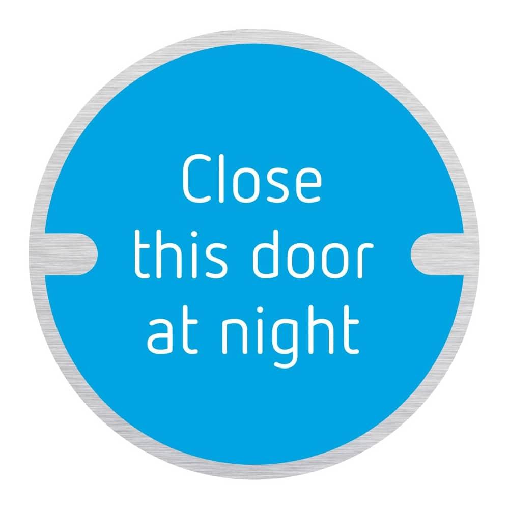 Disc Door Signs