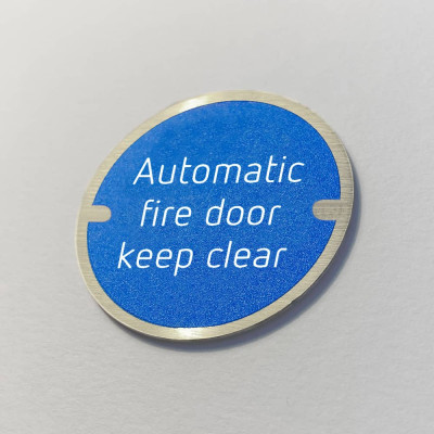 Disc Door Signs