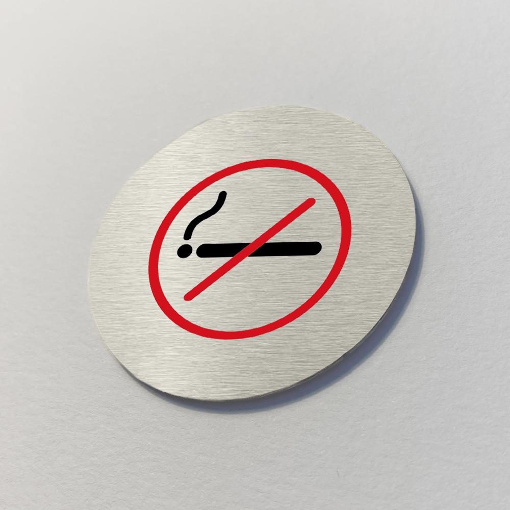 Ironmongery Disc Door Signs - Prohibition Range