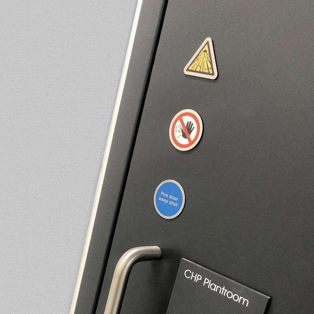 Ironmongery Door Signs