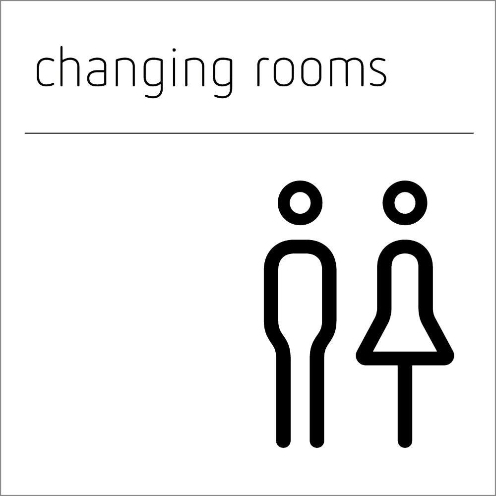 Changing Room Sign - Make & Female