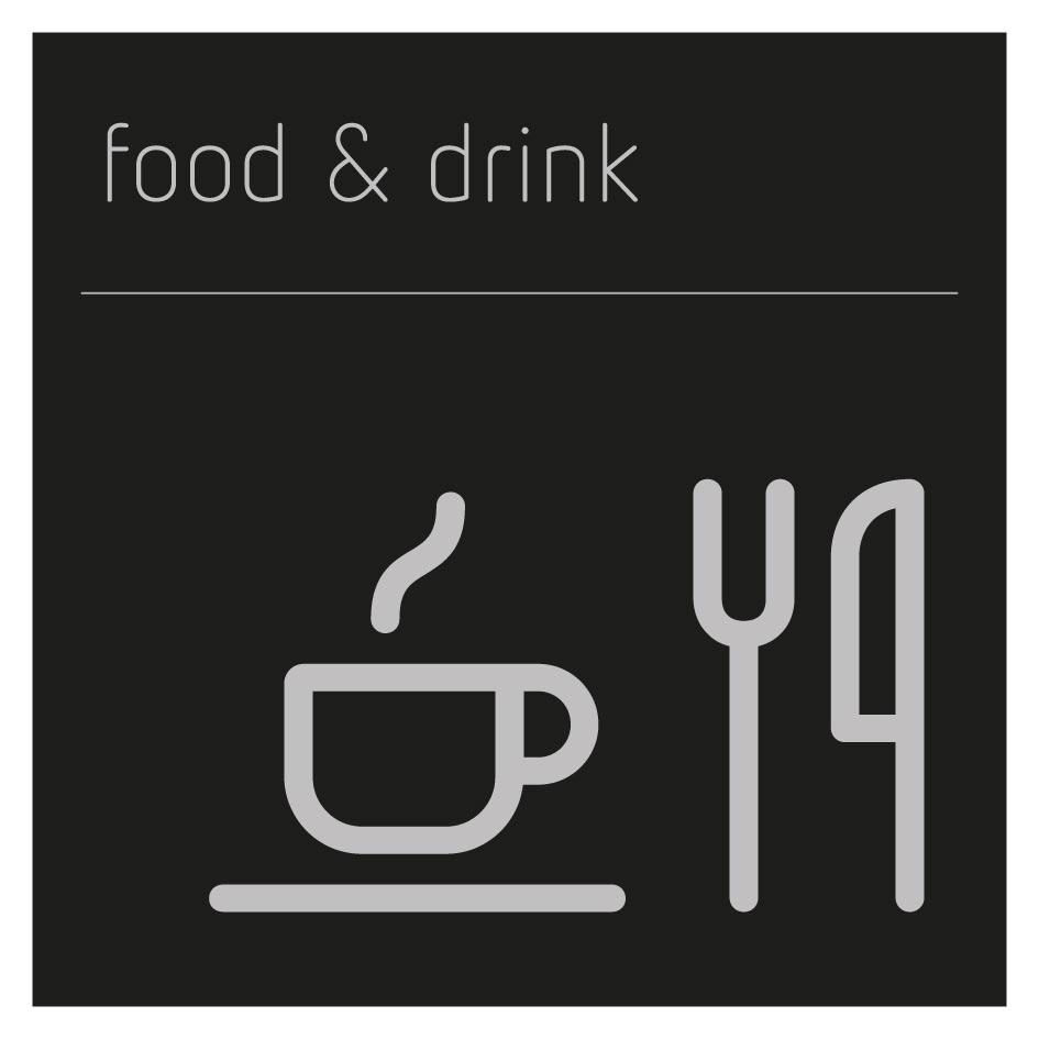 Food & drink pictogram sign