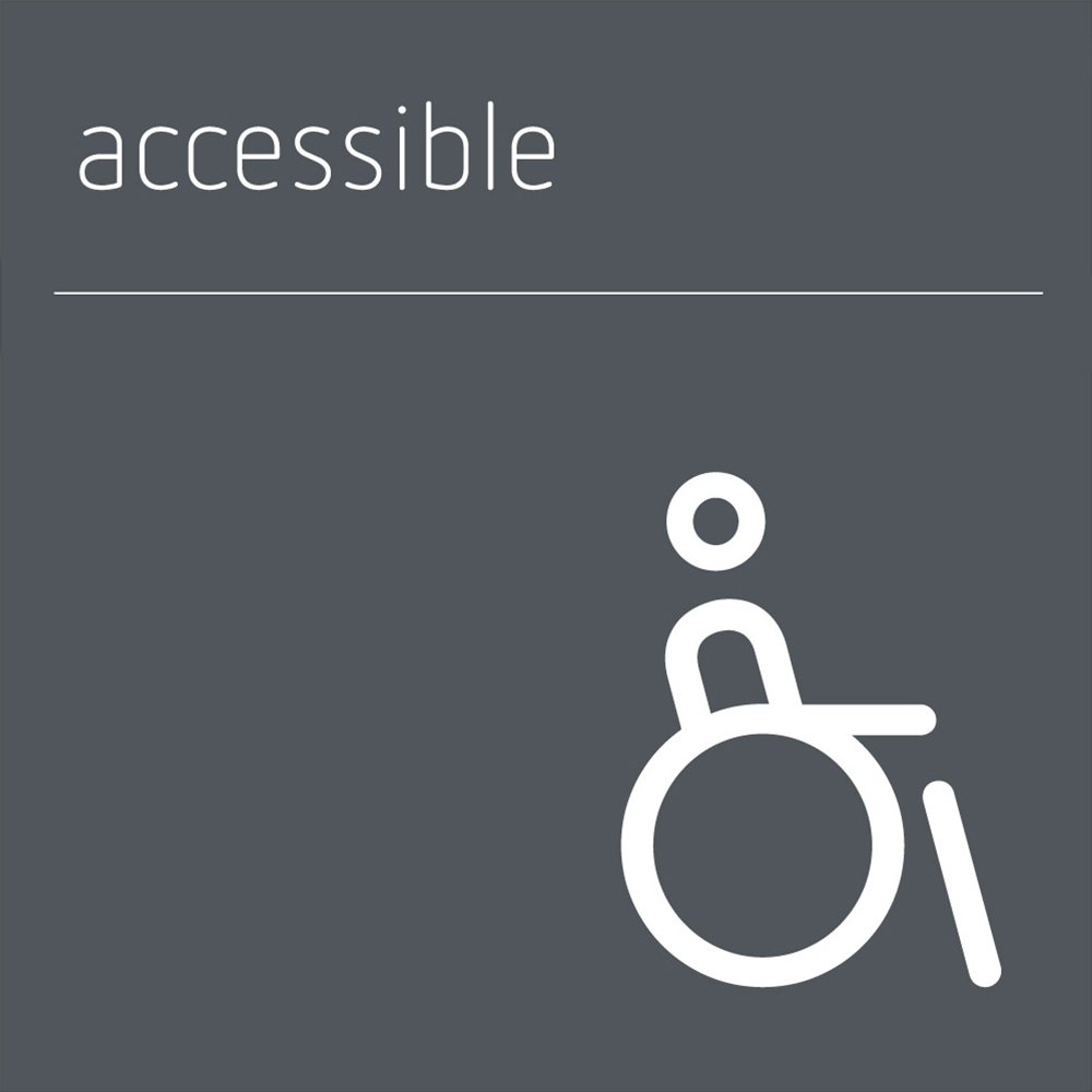 Accessible / Disabled Sign