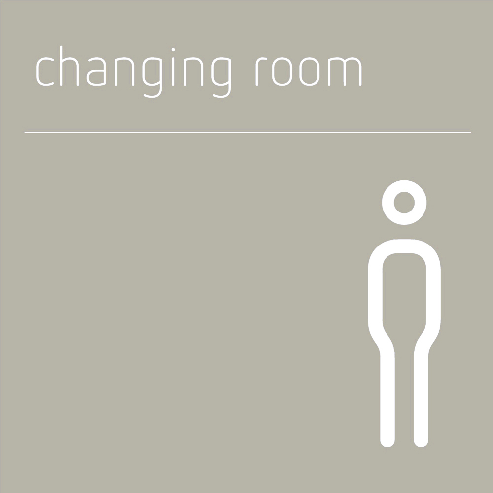 male changing room sign