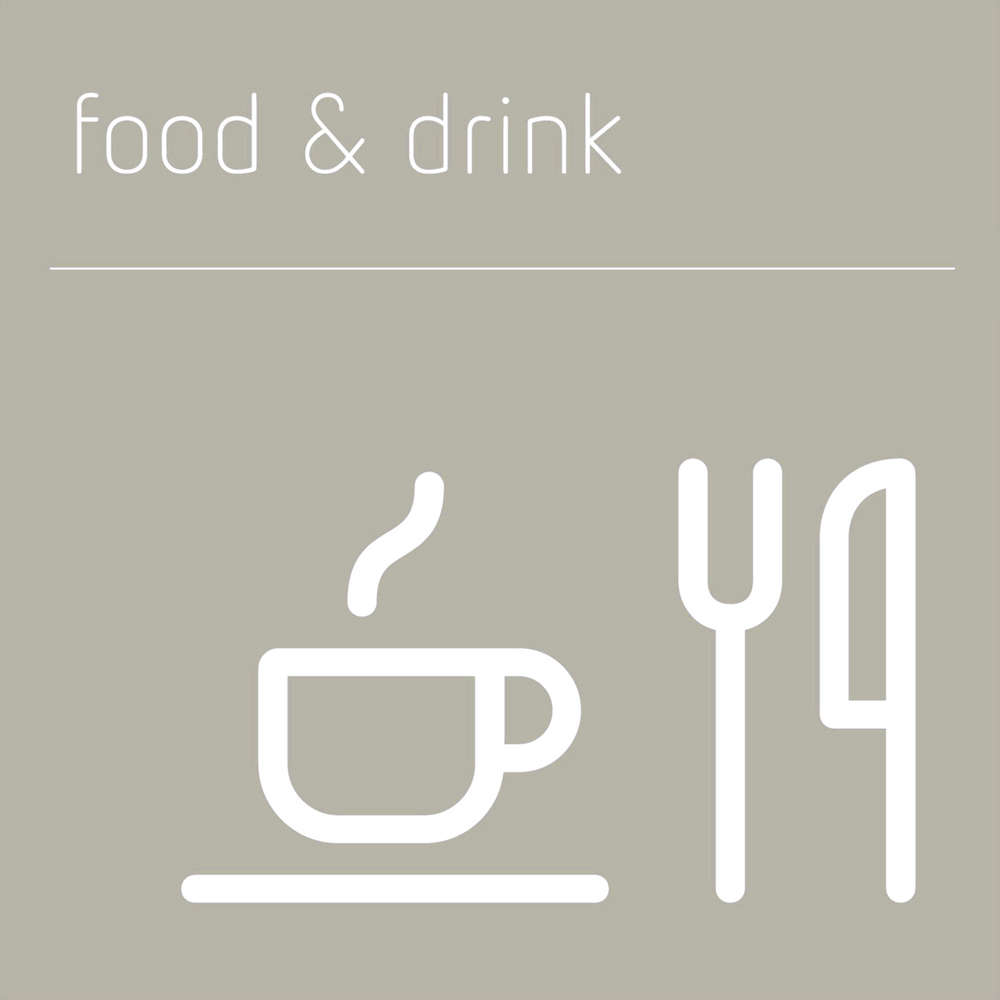 Food and Drink Sign