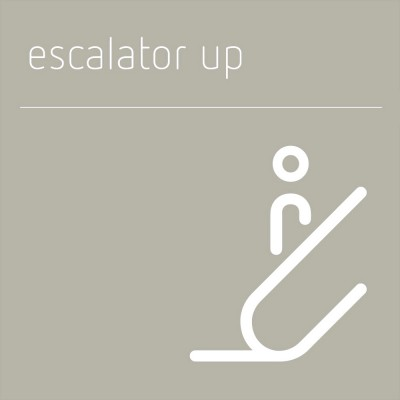 Escalator Up sign
