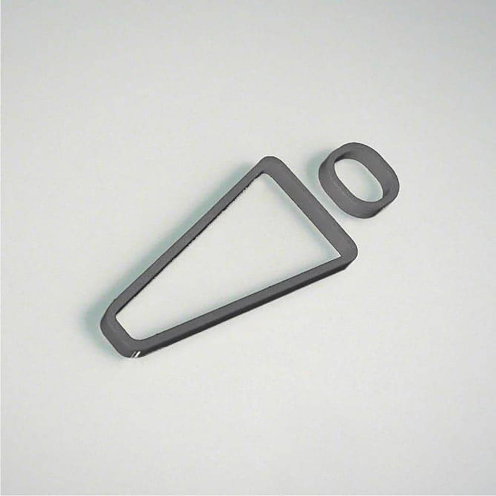 Deco Male Icon - Grey