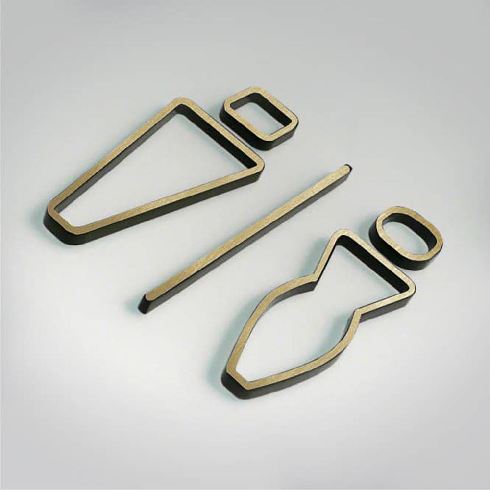 Deco Unisex Icon - Gold