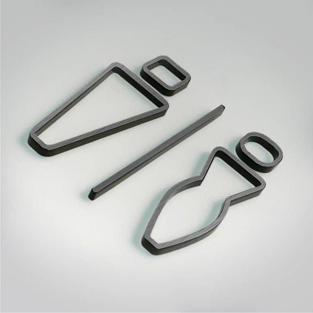 Deco Unisex Icon - Gunmetal