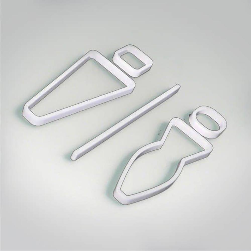 Deco Unisex Icon - White
