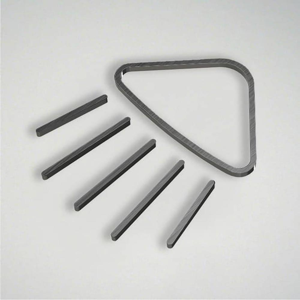 Deco Shower Icon - Gunmetal