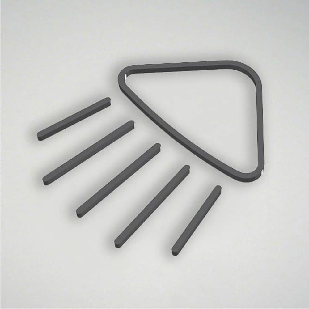 Deco Shower Icon - Grey