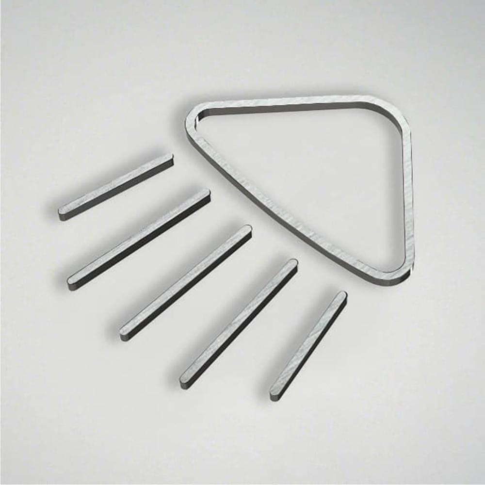 Deco Shower Icon - Silver