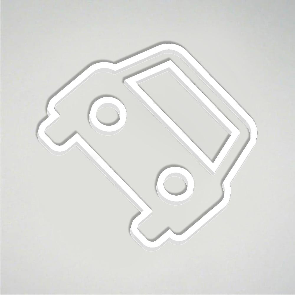 Deco Car Park Icon