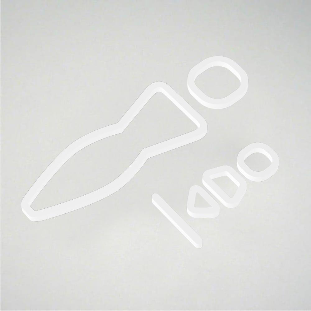 Deco Baby Change Icon - White