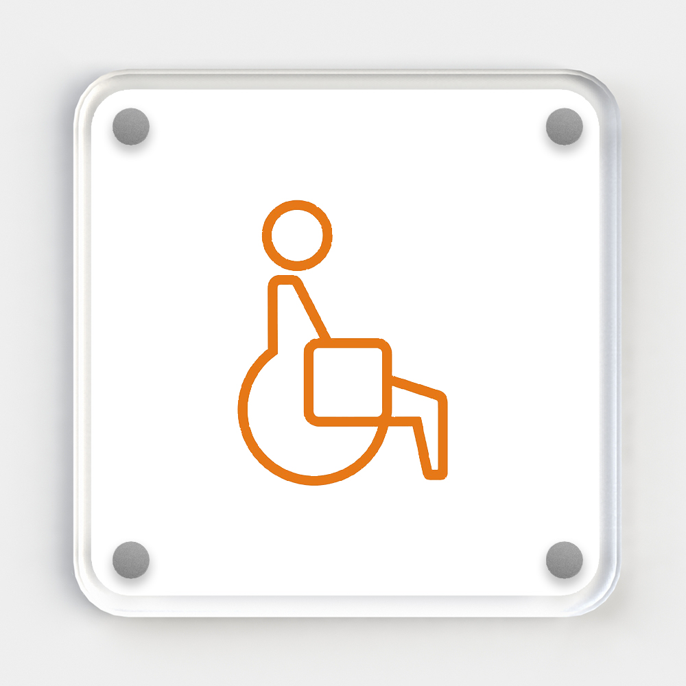 Deco Sign - Accessible / Disabled