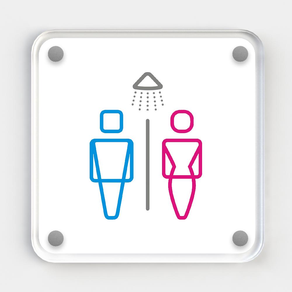 Deco Sign - Shower