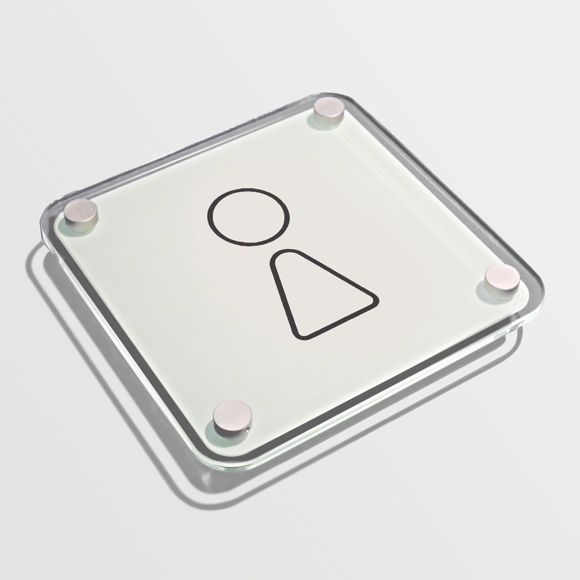 Icon Range - Female Toilet Sign