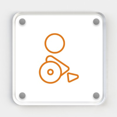 Icon Signs - Disabled / Accessible Coloured