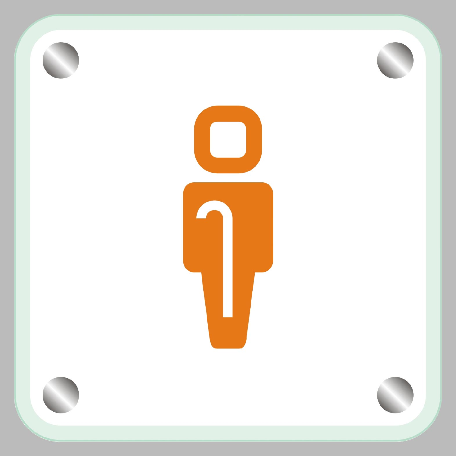 Accesible / Disabled door sign