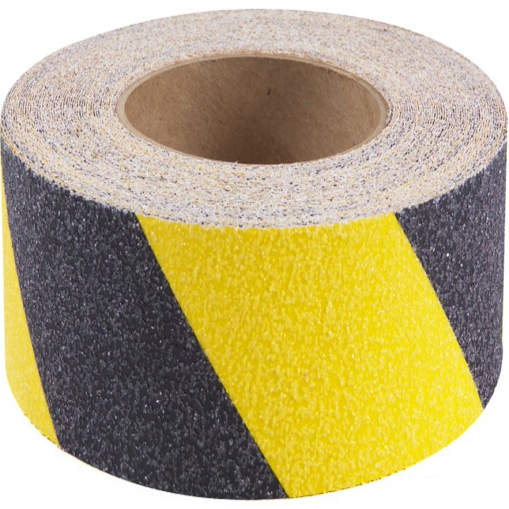Chevron external tape - hazard tape black and yellow