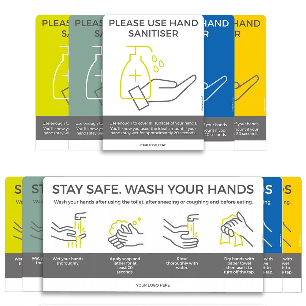 Hand Hygiene Signs