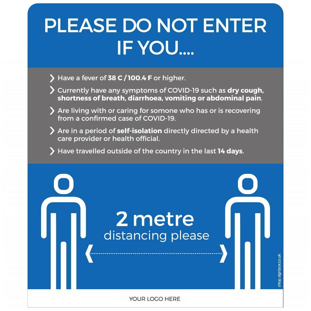2m - Please Do Not Enter