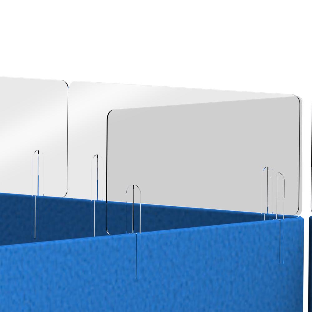 Desk Divider Partition Sneeze Screen Extension