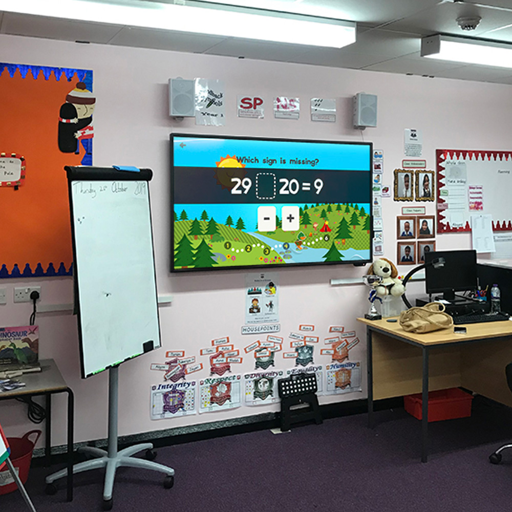 4K Interactive Touch Screen Whiteboard