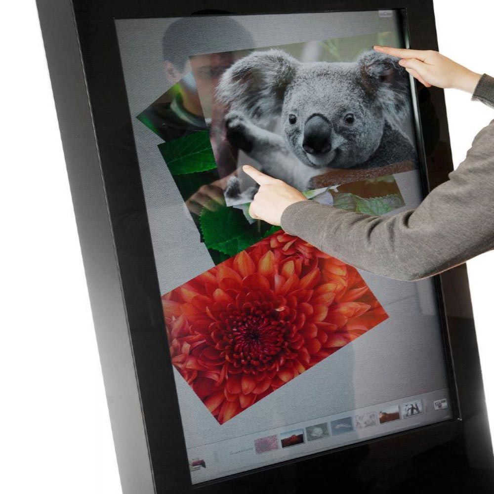 Freestanding Touch Screen