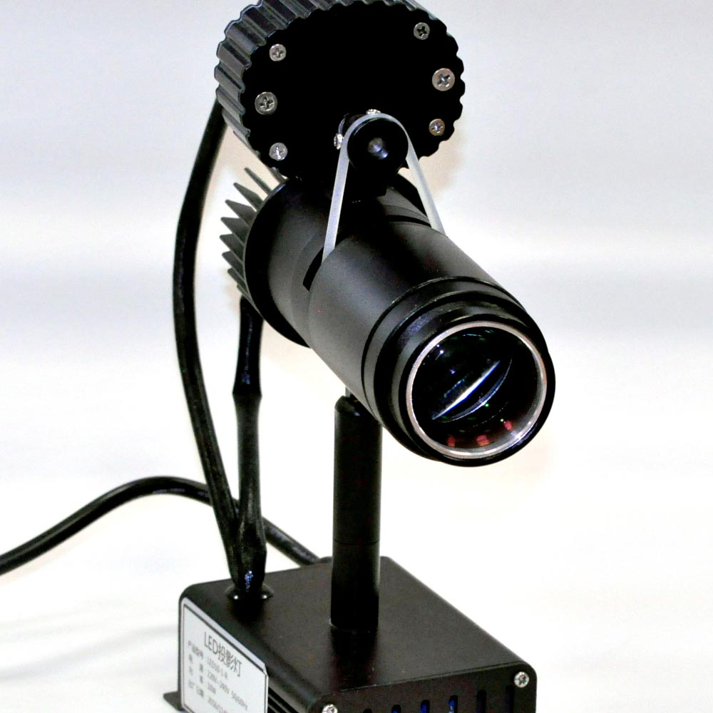 AW 10-R 10 watt LED Gobo Projector with rotator