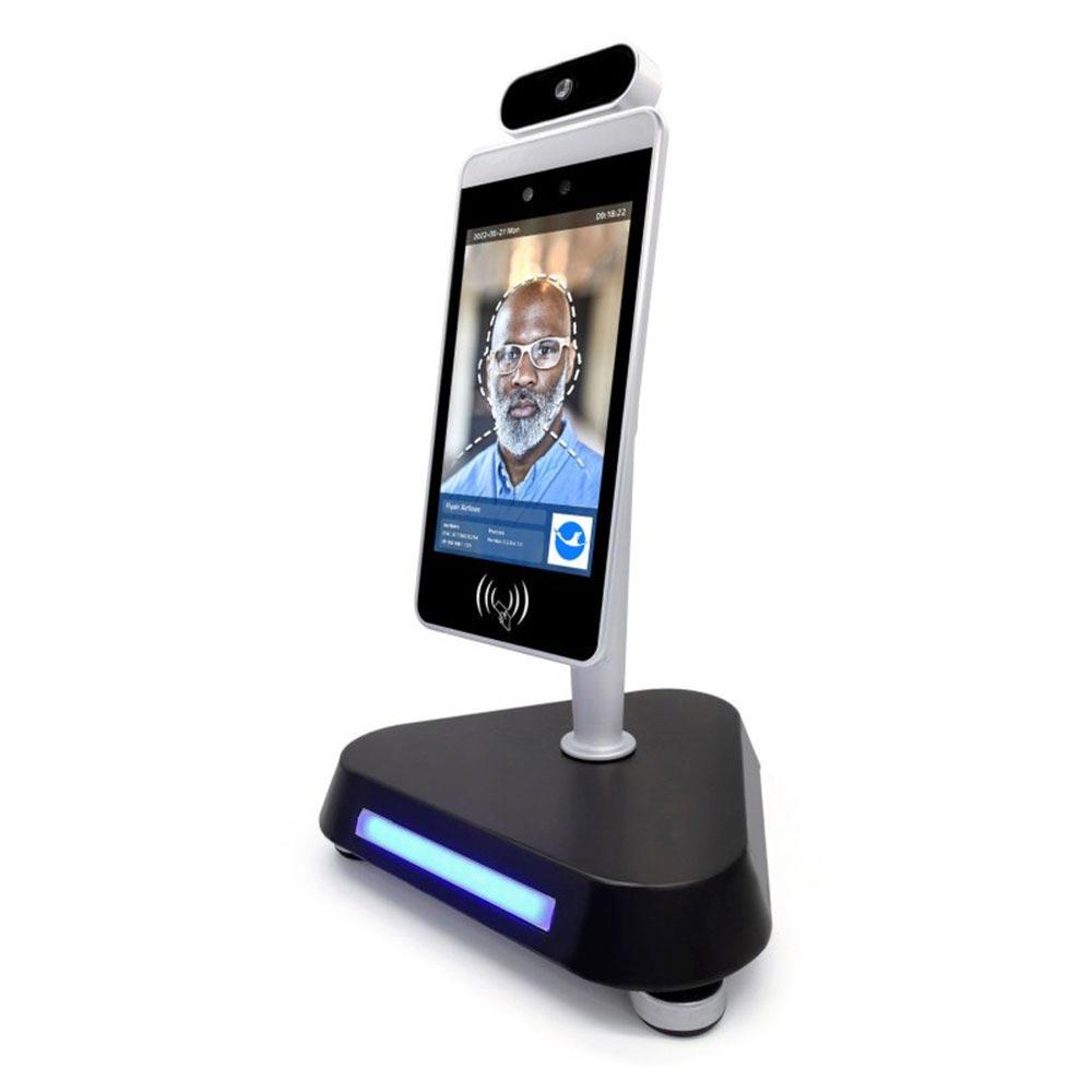 face recognition temperature sensing digital screen