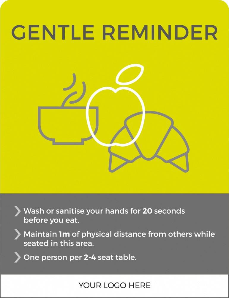 2m Gentle reminder - Lime Green
