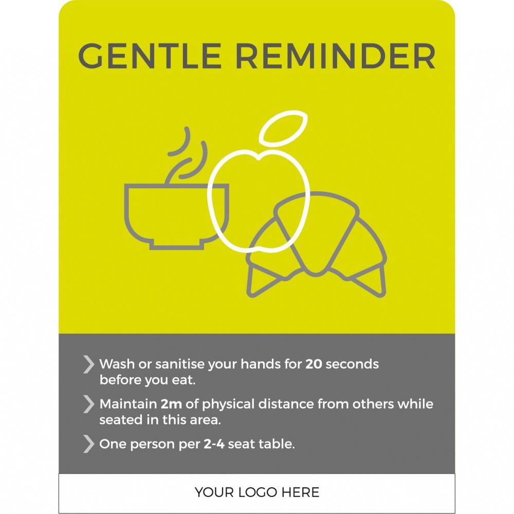 Gentle Reminder - Lime Green