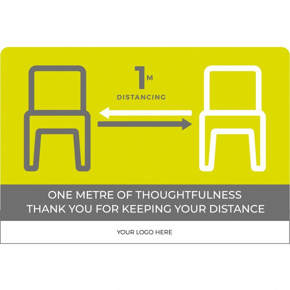 Seating social distancing 1m+ - Green