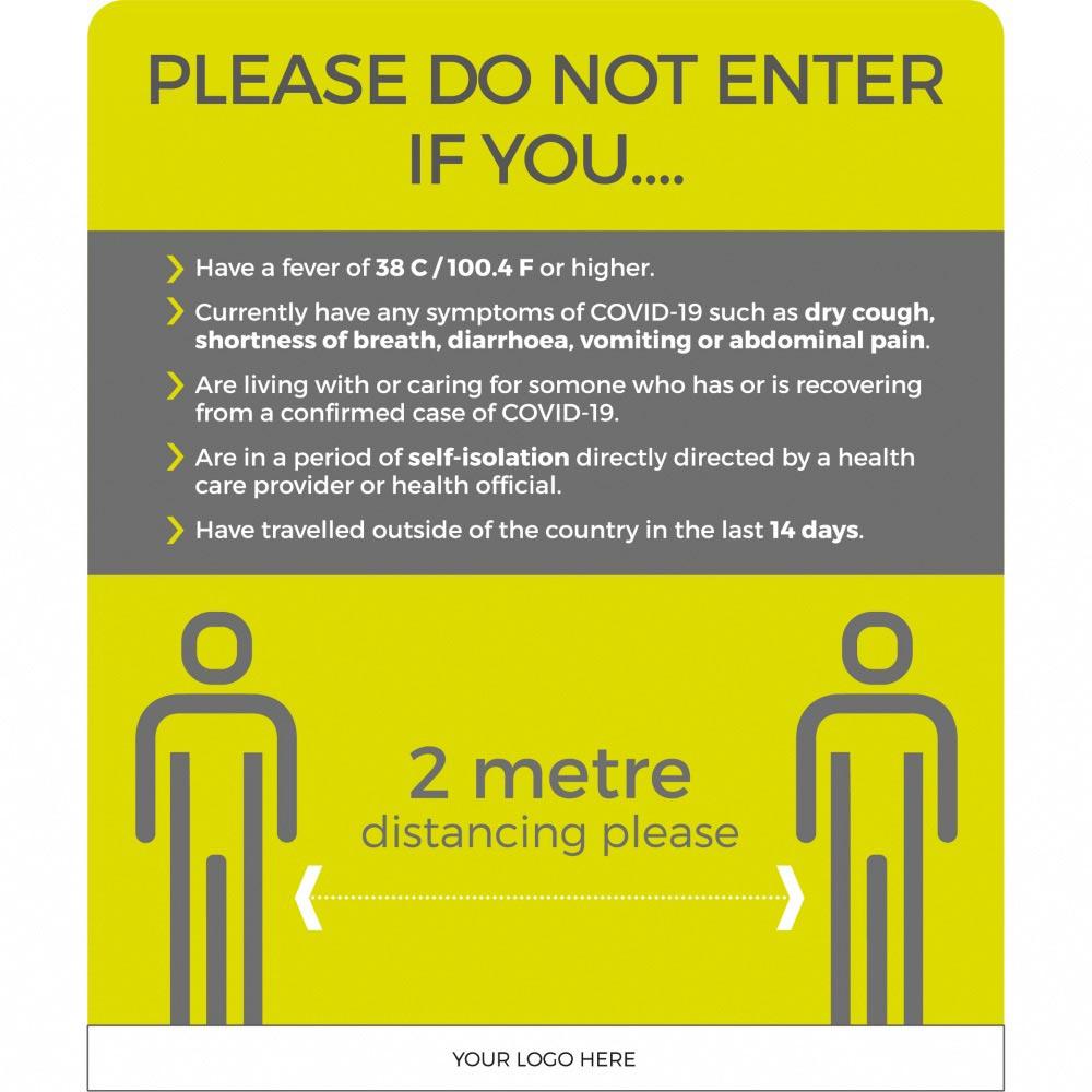 Do Not Enter - 2m - Green