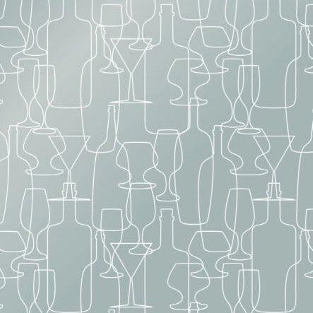 Sneeze Screen Floorstanding Bottles design