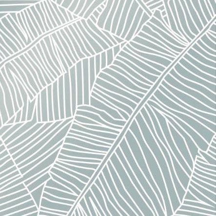 Sneeze Screen Floorstanding Leaves design