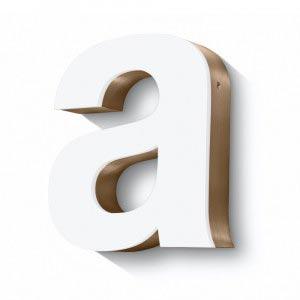 built up letter illuminated