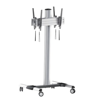 Floor trolley digital screen holder