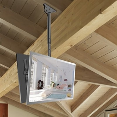 Back-to-Back Telescopic Ceiling Mount