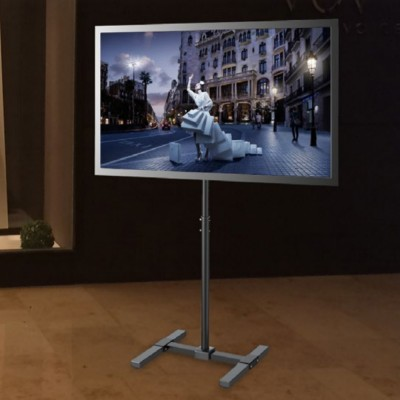 Digital Screen Mount Trolley Floor Stand